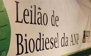 Leilão de Biodiesel da ANP (Agência Nacional do Petróleo, Gás Natural e Biocombustíveis)