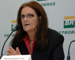 Maria das Graças Foster, presidente da Petrobrás