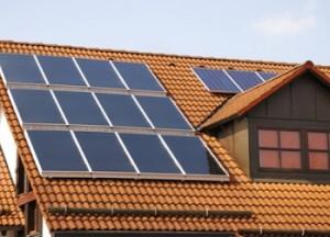 Solar no telhado