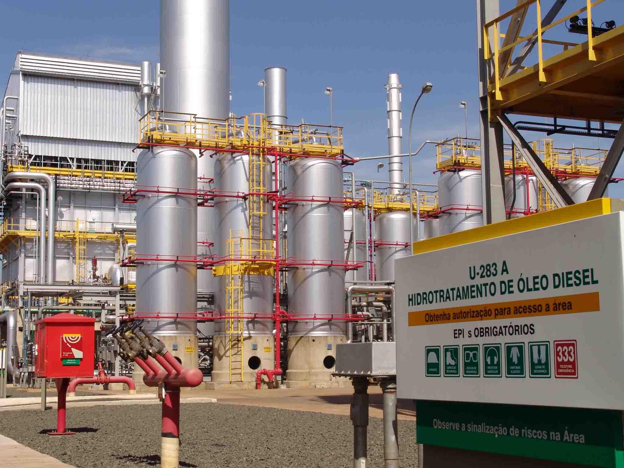 Resultado de imagem para replan refinaria