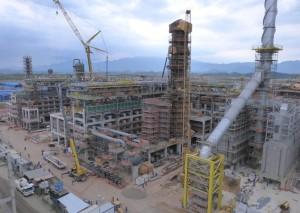 Unidade de Hidrocraqueamento Catalítico, construída pela Alumini no Comperj