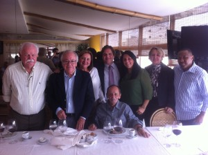 A Equipe ABDAN se reuniu na homenagem a Ronaldo Fabrício