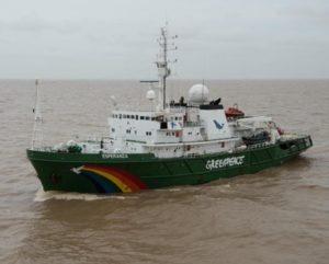Navio Esperanza Greenpeace Foz do Amazonas