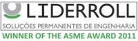 Liderroll - soluções permanentes de engenharia.  Winner of the ASME Award 2011.