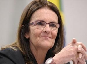 Maria das Gracas Foster, presidente da Petrobrás