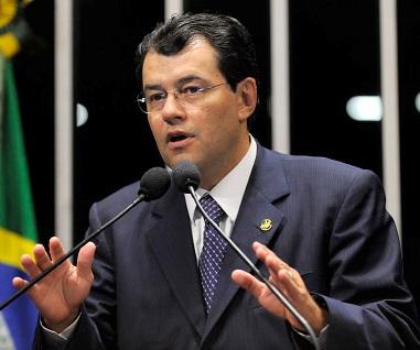 Eduardo Braga, Ministro de Minas e Energia.
